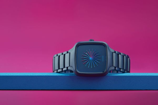 """Rado True Square """"Over the Abyss"""", in collaboration with Thukral and Tagra"""