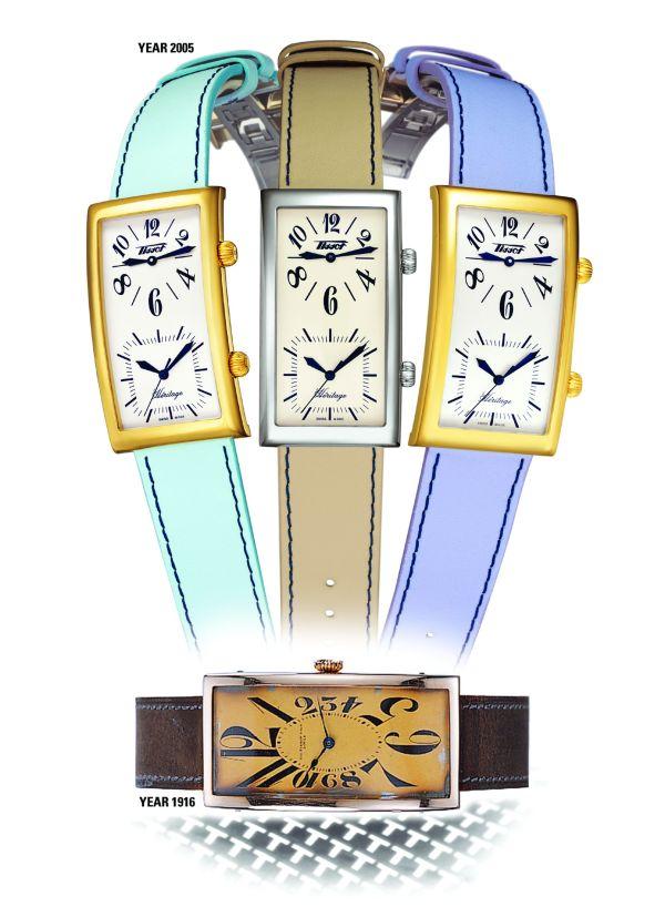 TISSOT Classic Prince II (with dual time-zone) quartz watch