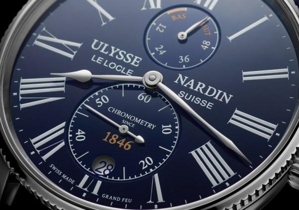 Ulysse Nardin Marine Torpilleur Blue Enamel