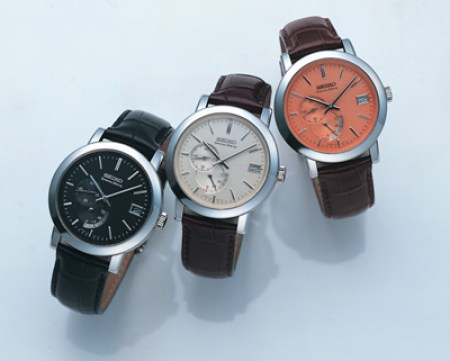 Spring Drive Automatic Power Reserve Indicator and Small Seconds (references SNS001J SNS003J & SNS005J)