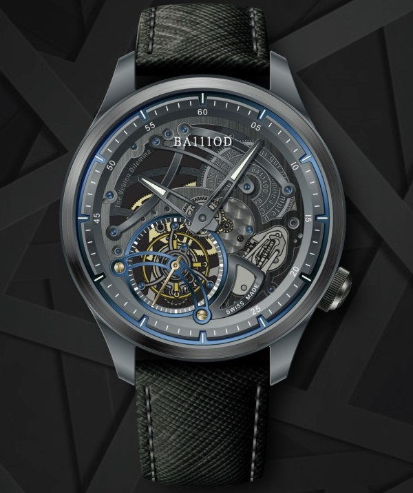 BA111OD - The Veblen Dilemma Tourbillon watch