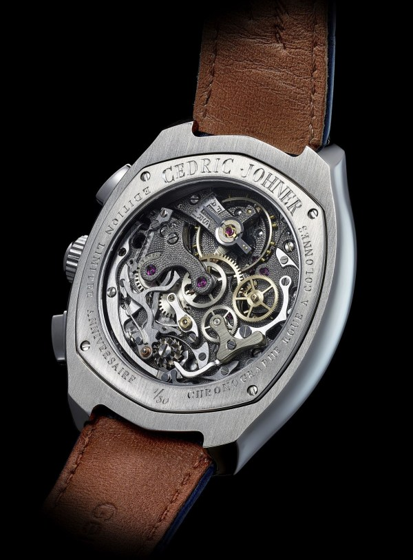 Cedric Johner Abyss Chronograph 30th Anniversary Limited Edition