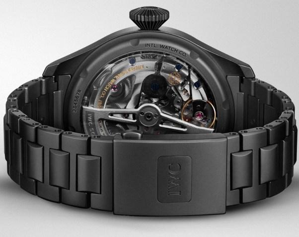 IWC Schaffhausen Big Pilot's Watch Perpetual Calendar TOP GUN Ceratanium (Ref. IW503604)