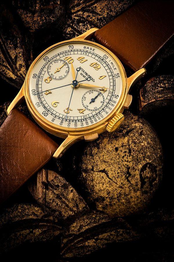 Patek Philippe Split-Second Chronograph Ref. 1436 in 18K Yellow Gold