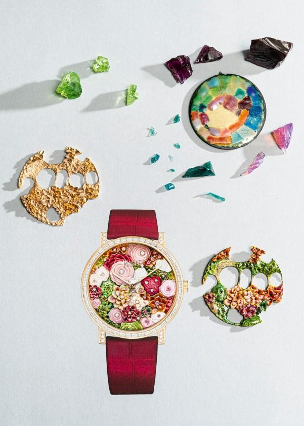 Altiplano Rose Bouquet Métiers d'Art, Reference: G0A46219