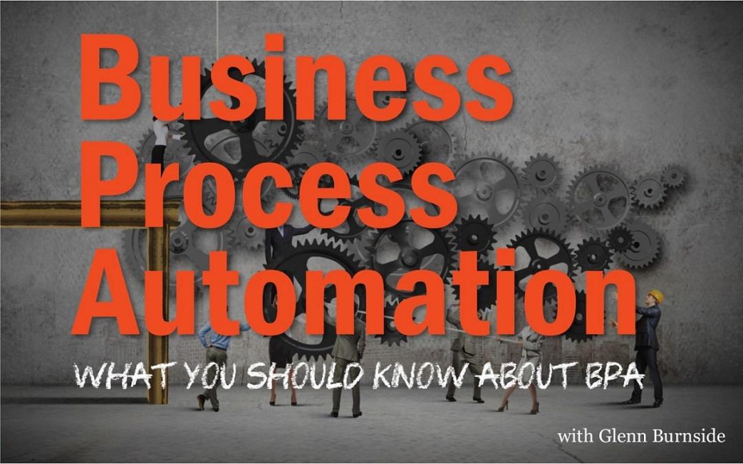 MBA044: Business Process Automation