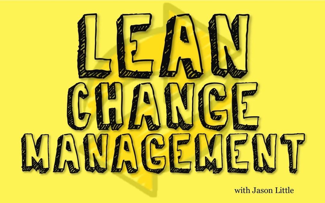MBA095: Lean Change Management