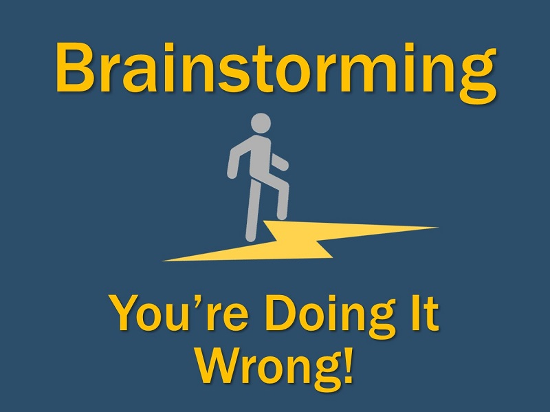 Lightning Cast: Brainstorming – You're Doing It Wrong!