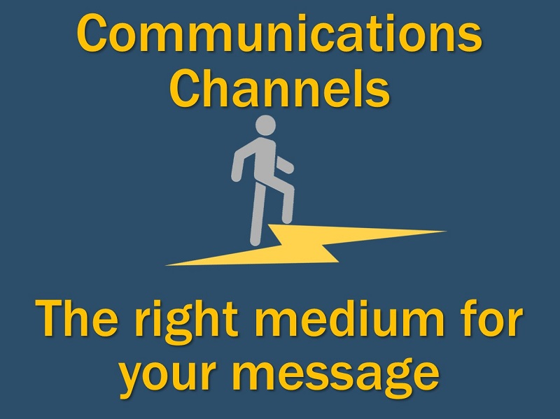 Lightning Cast: Which Communications Channel Should You Use?