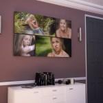 Room Set S37: 4x Mixed Ratio Graphistudio Acrylic Pros In Living Room