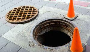 manhole-one way to surrender