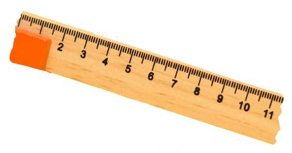 broken ruler