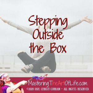 Stepping Outside the Box cover art