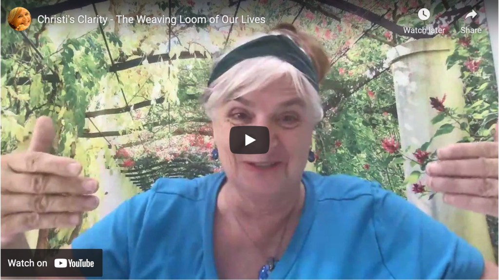 Video still-Weaving Loom