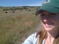 Me with Bison @ Custer State Park