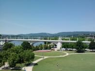 View from Chattanooga ped bridge