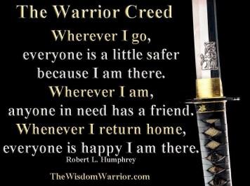 cobourg tae kwon do warrior creed