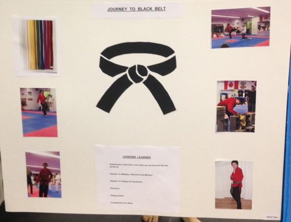 nathan black belt poster cobourg tae kwon do