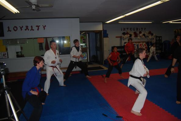 2 black belt grading 2014 cobourg tae kwon do