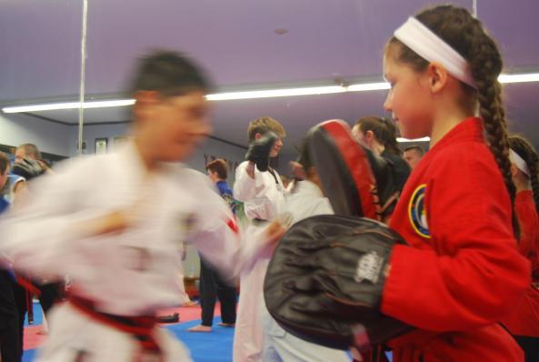 4 black belt grading 2014 cobourg tae kwon do