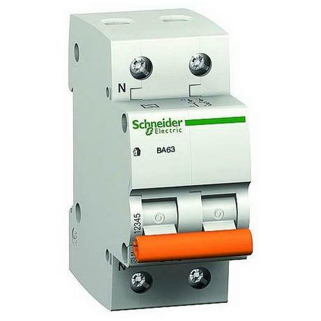 Автоматический выключатель Schneider Electric Домовой 1P+N 20А (C) 4.5кА