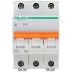 Автоматичний вимикач Schneider Electric Домовий 3P 6А (C) 4.5кА