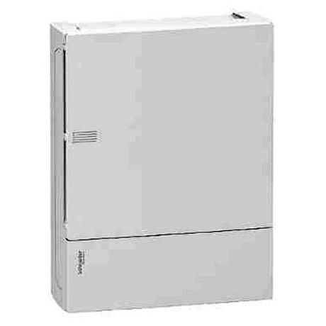 Распределительный шкаф Schneider Electric MINI PRAGMA, 24 мод., IP40, навесной, пластик, белая дверь, с клеммами