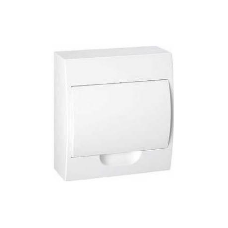 Щит Schneider Electric MINI PRAGMA, 8 мод., IP40, навесной, Пластик, белая дверь