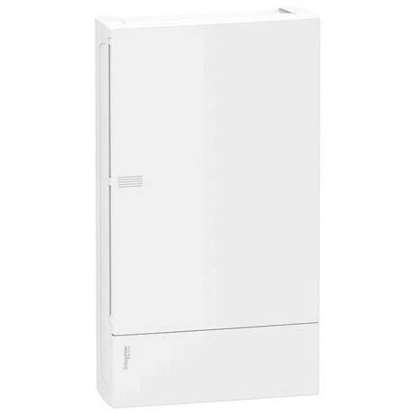 Распределительный шкаф Schneider Electric MINI PRAGMA, 36 мод., IP40, навесной, пластик, белая дверь, с клеммами