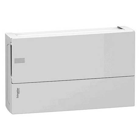 Распределительный шкаф Schneider Electric MINI PRAGMA, 18 мод., IP40, навесной, пластик, белая дверь, с клеммами