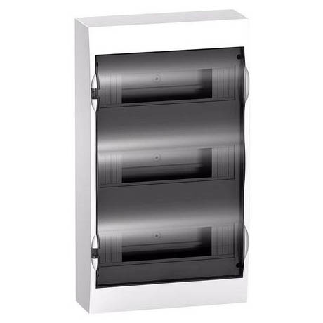 Распределительный шкаф Schneider Electric Easy9, 36 мод., IP40, навесной, пластик, прозрачная дверь, с клеммами