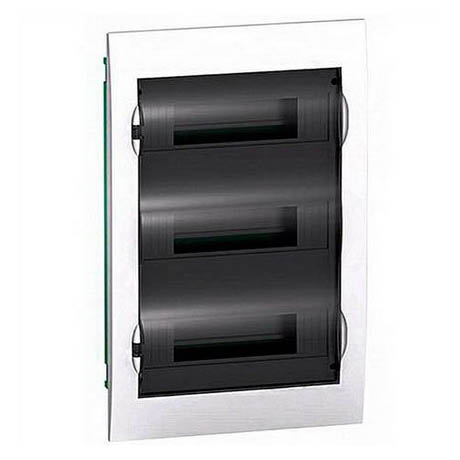 Распределительный шкаф Schneider Electric Easy9 36 мод., IP40, встраиваемый, пластик, прозрачная дверь, с клеммами