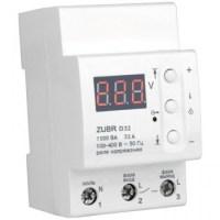 Реле контроля напряжения DS Electronics ZUBR 32A (se)