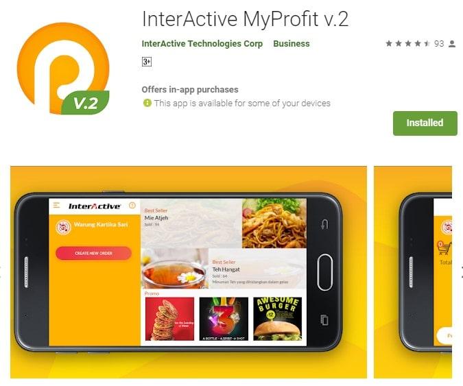 Aplikasi Penjalan Android Gratis Interactive Myprofit