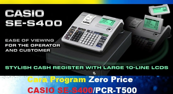 Program Zero Price Casio SE-S400 / PCR-T500