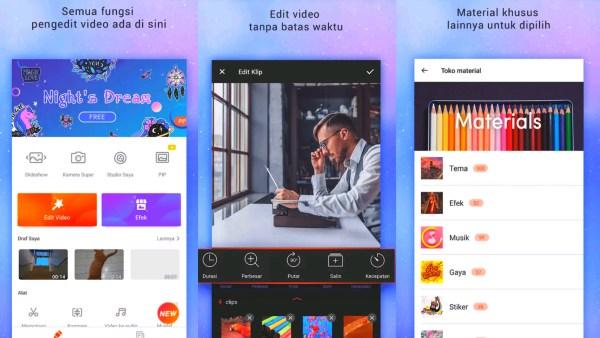 Aplikasi Edit Video Android Gratis Full APK VideoShow