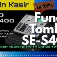 Fungsi Tombol Mesin Kasir CASIO SE-S400