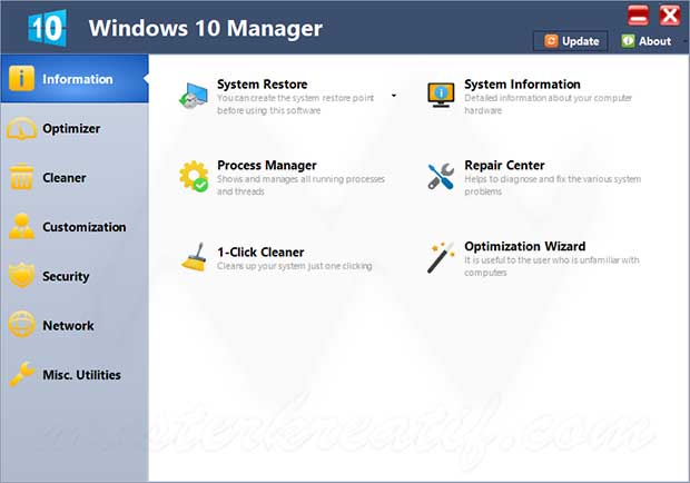 Yamicsoft Windows 10 Manager Crack + Patch Download