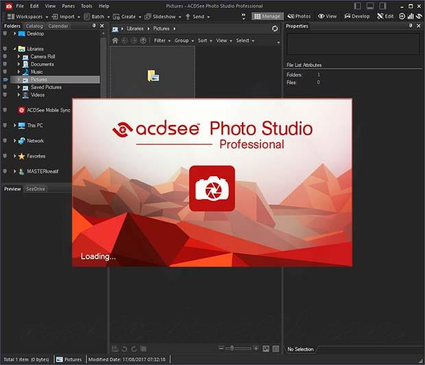ACDSee Photo Studio Professional Crack + Activation key Download