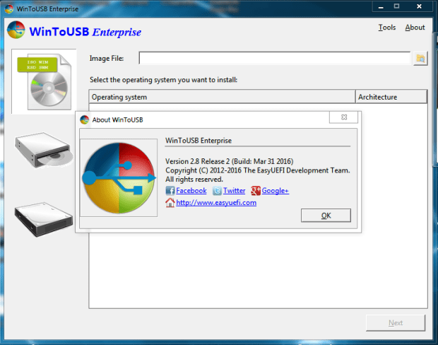 WinToUSB Enterprise 4 license key Free Download