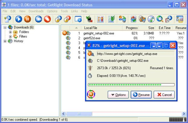 GetRight Pro Crack Free download