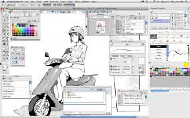 Manga Studio EX 5 Crack Free download