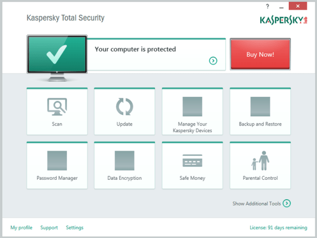 Kaspersky Total Security 2015 licence key