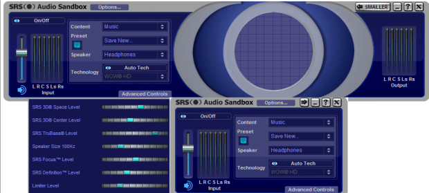 SRS Audio SandBox Crack Download