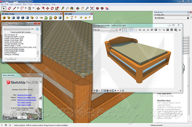 VRay for SketchUp Licence key Full Version