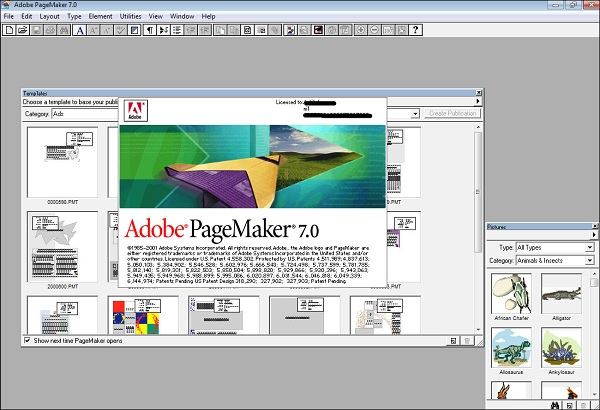 Adobe PageMaker Registration key Full Version