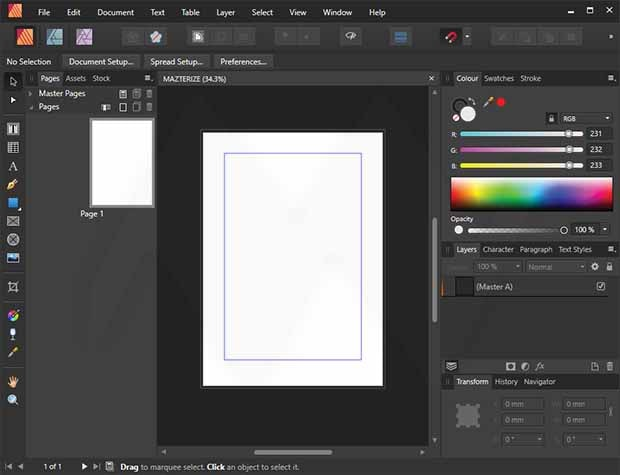 Serif Affinity Publisher Registration key