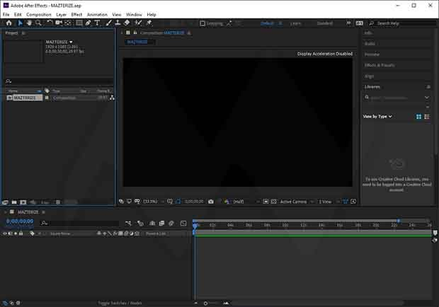 Adobe After Effects CC Crack Mac Full Version Download