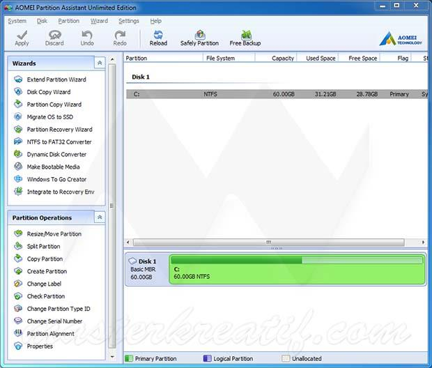 AOMEI Partition Assistant Crack Mac Full Version Download