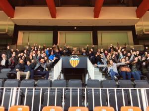 Macom 8 en el Valencia Club de Futbol